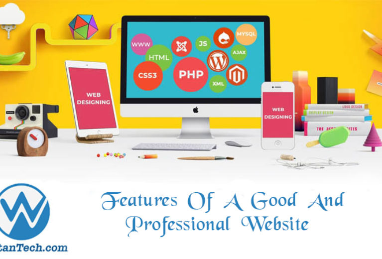 Features of a good and professional website